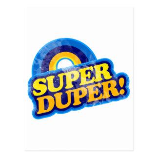 Super Duper! Postcard