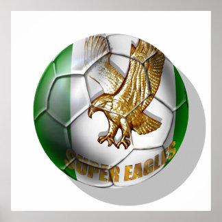 Super Eagles Logo football fans gifts Print