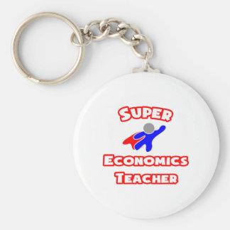 Super Economics Teacher Keychains