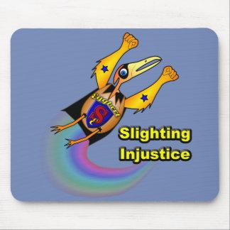 Super Eggbert Slighting Injustice Mouse pad