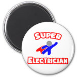 Super Electrician Refrigerator Magnet