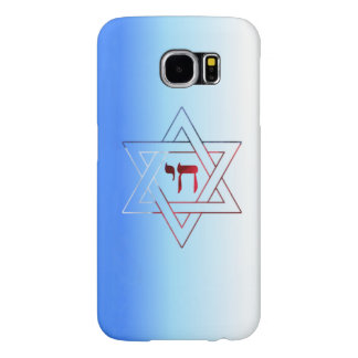 Super Elegant Star of David and Chai Samsung Galaxy S6 Cases