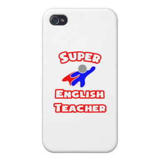 Super English Teacher Case For iPhone 4