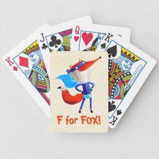 Super Fox Bicycle Playing Cards