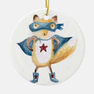 Super Fox! Christmas Ornament