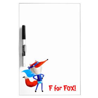 Super Fox Dry-Erase Whiteboard