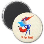 Super Fox Fridge Magnet