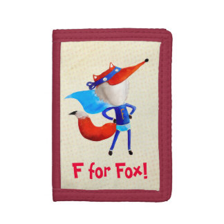 Super Fox Trifold Wallet