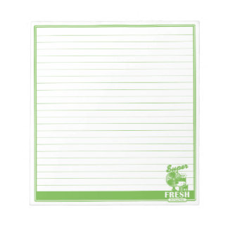 SUPER FRESH NOTEPAD