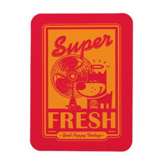 SUPER FRESH RECTANGULAR PHOTO MAGNET