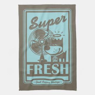 SUPER FRESH TEA TOWEL
