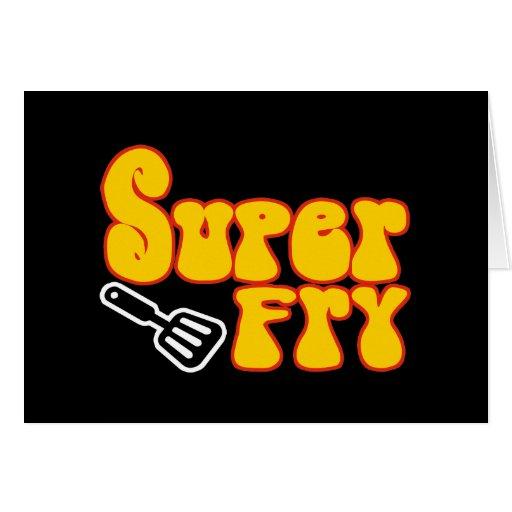 Super Fry (Funny Blaxploitation) Greeting Card