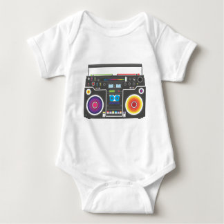 Super Funky Super Colorful Baby Bodysuit
