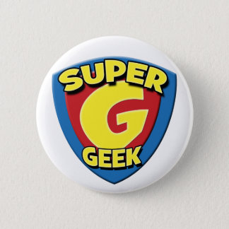 Super Geek 2008 Button