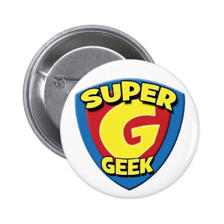 Super Geek 2008 Button