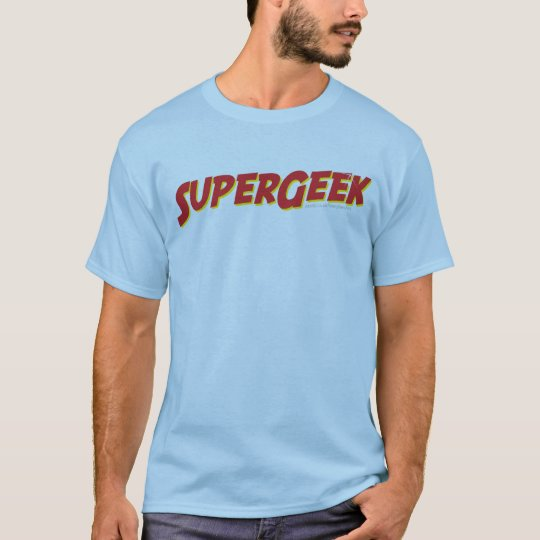 Super Geek T Shirt