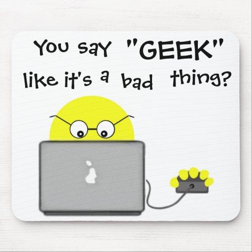 Super Geek Tech Computer Mousepad
