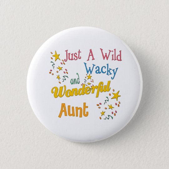 Super Gifts For Aunts 6 Cm Round Badge