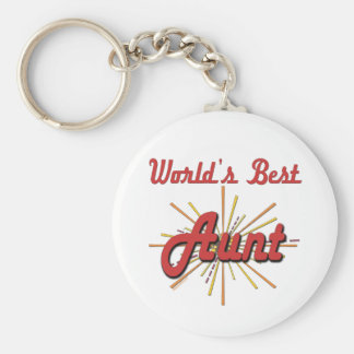 Super Gifts For Aunts Basic Round Button Key Ring