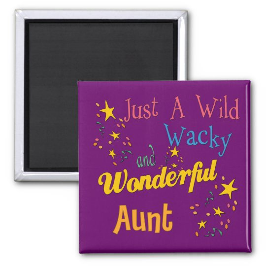 Super Gifts For Aunts Square Magnet