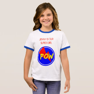 SUPER GIRL POW T-SHIRT