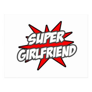 Super Girlfriend Postcard
