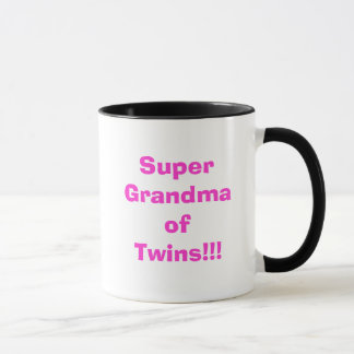 Super Grandma of Twins!!! Mug