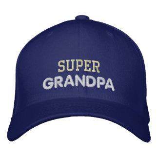 Super Grandpa Embroidered Hats