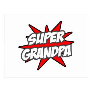 Super Grandpa Post Cards