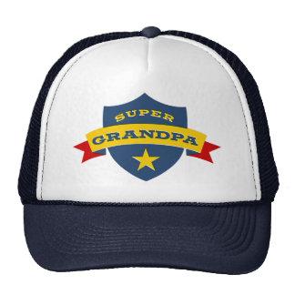 Super Grandpa Shield Cap