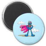 Super Grover 6 Cm Round Magnet