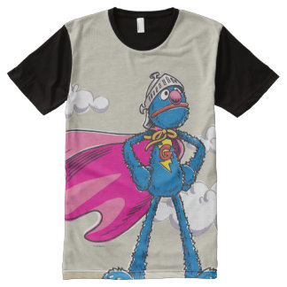 Super Grover All-Over Print T-Shirt
