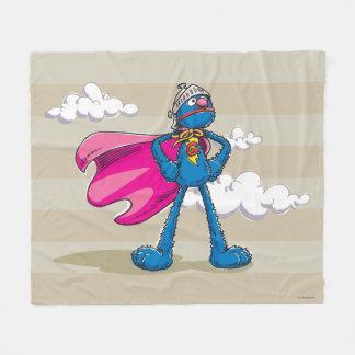 Super Grover Fleece Blanket