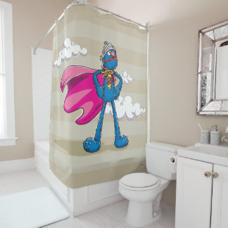Super Grover Shower Curtain