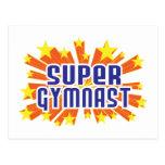 Super Gymnast Postcards