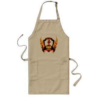 Super Hero Dad Fathers Day Gifts Long Apron