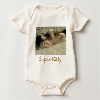 Super Hero Kitty Cat Baby Creeper