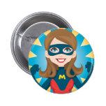 Super Hero Mum Pin
