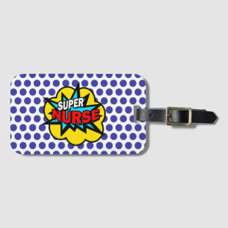 Super Hero Nurse Luggage Tag