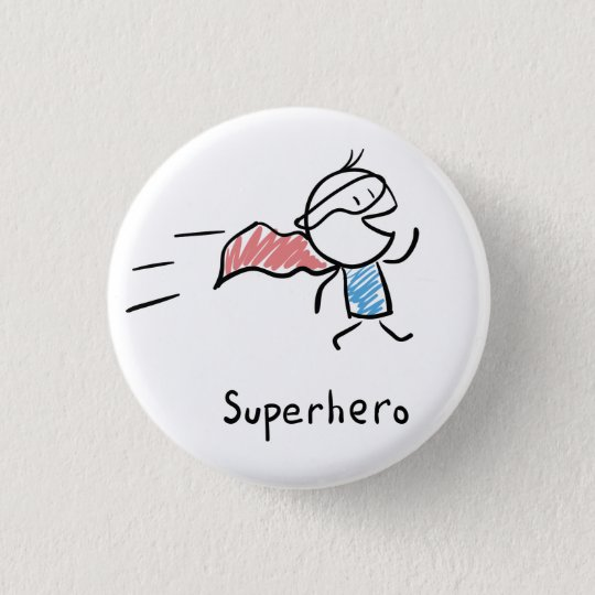 Super Hero Pin