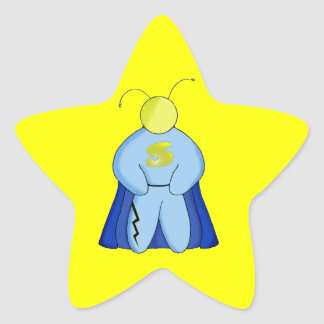 Super Hero Star Stickers