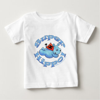Super Hippo Baby T-Shirt