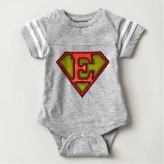 Super Initial Baby Bodysuit