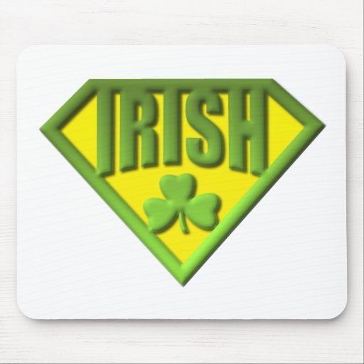 Super Irish Man Mousepad