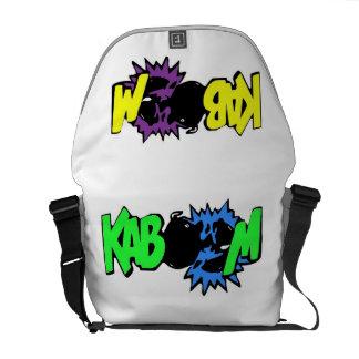 SUPER KABOOM messenger bag
