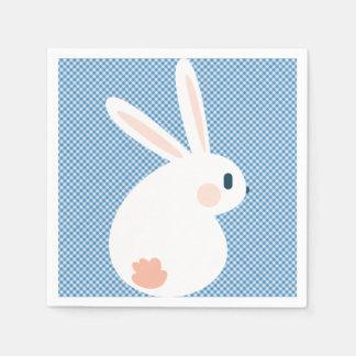 Super Kawaii Cute Easter Bunny. Disposable Serviettes