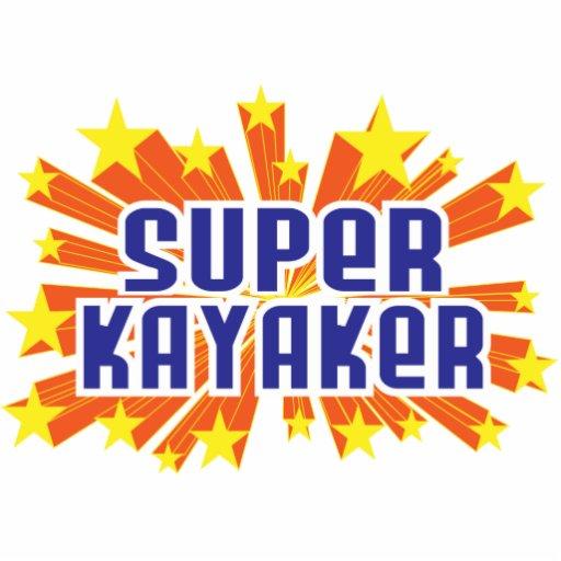 Super Kayaker Photo Cutout