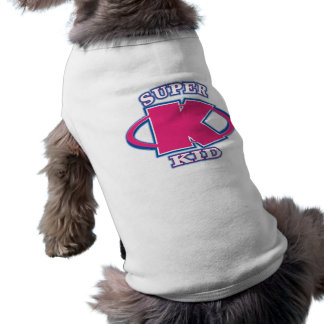 Super Kid Girl Dogs T-Shirt Pet Clothing