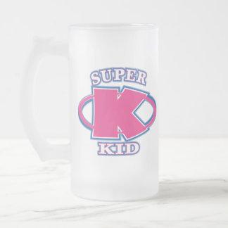 Super Kid Girls Glass Mug