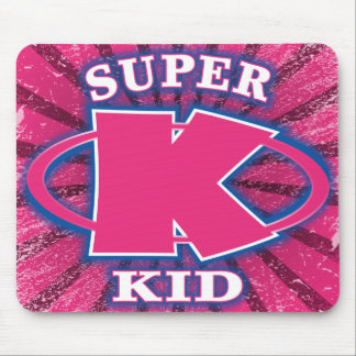 Super Kid Girls Mousepad